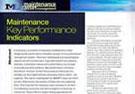 Maintenance Engineering Journal 2013: Paper on KPIs by Paul Wheelhouse